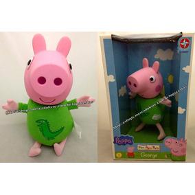 Boneco George Pig Roupa Sr. Dinossauro Irmão Peppa Original