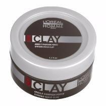 Loreal Professional Homme Clay 5 Pomada Modeladora - 50ml