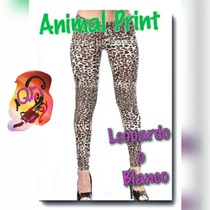 Animal Print !!! Calzas Exc. Calce