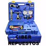Kit Refrigeracion Manifold R 410 Pestañadora Cortadora Value