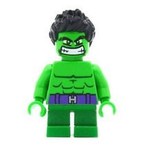 Genial Minifigura Hulk Mighty Mini Q Compatible Con Lego