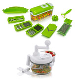 Multiprocessador Manual + Nicer Dicer Plus Cortador Fatiador