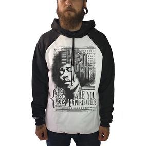 Blusa Jimi Hendrix Camisetas Moletom Regata Bandas Rock