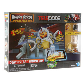 Angry Birds Star Wars Telepods - Death Star Trench Run