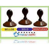 Sellos De Madera Al Detal Y Al Mayor De Montura C/u 5,5cm