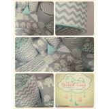 Set Patch: Chichonera+acolchado+sábanas+cortinas+lámpara+alm