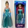 Boneca Gigante Stephany Princesa Cinderela Disney Original
