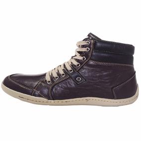 Sapatenis Bota Shoes Grand Lona Chumbo Vinho Tamanho Grande
