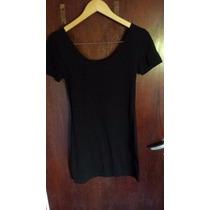 Vestido De Fiesta - Modal Con Lycra - Negro