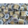 Courinho Fio Dourado Para Personalizar Chinelos - Rolo 50 M
