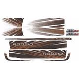 Kit De Faixa Lateral P/ S10 Rodeio 2011 - 4x4 Diesel
