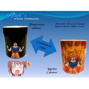 Taza Magica Goku Super Saiyan