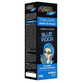 Tonalizante Color Express Fun Blue Rock 100g Salon Line