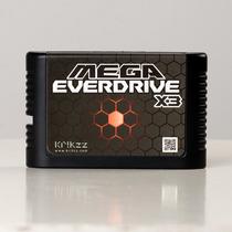 Flashcard Mega Everdrive X3 Mega Drive E 32x Krikzz Original