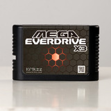 Flashcard Mega Everdrive X3 Mega Drive, Funciona Mega Novo!