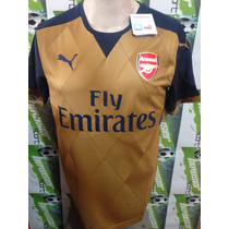 Jersey Puma 100% Original Arsenal De Inglaterra 2016 Visita