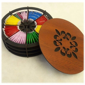 Caja De Té Circular (fábrica Directo)