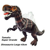 Dinosaurio Gigante 43 Cm Camina Mueve Boca Luces Y Rugido