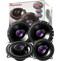 Kit Auto Falantes Pioneer Gol G2 G3 G4 G5 Kit P/ As 4 Portas