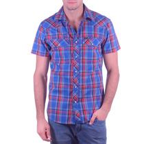 Camisa Manga Corta James Western Shirt Lee