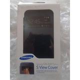Samsung Capa S View Cover Para Galaxy S4 Mini - Preta
