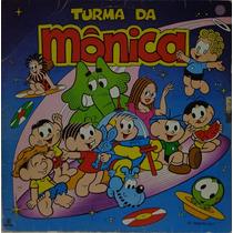 Lp Vinil-infantil-turma Da Mônica-1987-globo-encarte