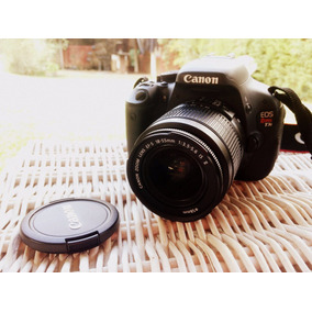 Cámara Reflex Canon Eos T3i Full Hd Kit Full Impecable!!