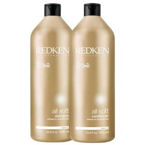 Redken All Soft Kit Shampoo E Condicionador Prof 1000ml