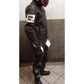 Macacão Moto Arlen Ness 2 Peças Couro Racing