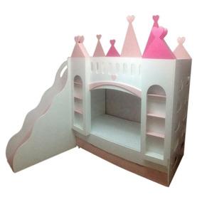 Cama infantil castelo princesa cama infantil no mercado - Camas infantiles de princesas ...