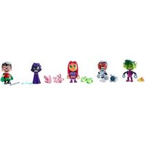 Teens Titans Go/jovens Titans/titãs Pack Com 6 Mini Bonecos