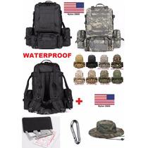 Mochila Uso Militar Importacion Nylon D600 Repelente Al Agua