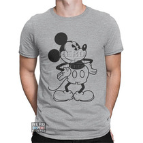 Camisa, Camiseta Mickey Mouse Classic Pluto Disney Desenhos