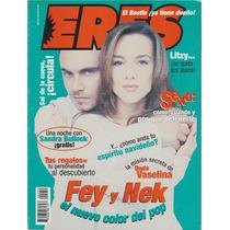 Fey & Nek Revista Eres De Diciembre 1998 Thalia