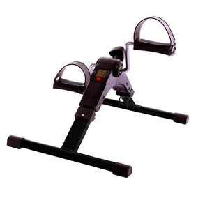 Mini Bicicleta Cicloergômetro Fisioterapia Com Monitor Lcd