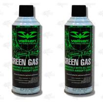 2 Botes 8oz Vallken Green Gas Silicona Marcadora Airsoft Xtr