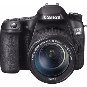 Canon Eos 70d 18-135 W + 16gb Cl10 Full Hd Wifi Factura Gtia