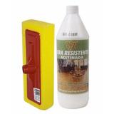 Cera Resistente Acetinada Restaura Pisos + Passa Cera 1l W&w