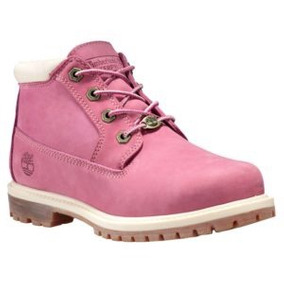 Bota Timberland Mujer Nellie Rosa A19d9 Look Trendy