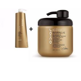 Kit Shampoo Joico K Pak 1 Litro + Máscara Joico K-pak 480ml