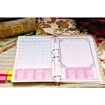 Planner Insert Menu Semanal Poc Planner