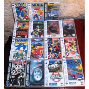 11 Jogos De Sega Saturn Cd Rom A Escolha