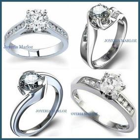 Anillos De Compromiso Con Diamante Natural .50ct En Oro 14kt