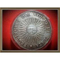 Argentina Antique Silver Coin 8 Reales 1813 Centenario 1913