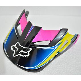 Pala Capacete Fox V1 Race Amarelo/azul 62/64