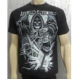 Camiseta De Banda - Avenged Sevenfold - Modelo 1