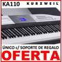 Piano Eléctrico Kurzweil Ka 110 + Pedal Sustein + Sop + Fact