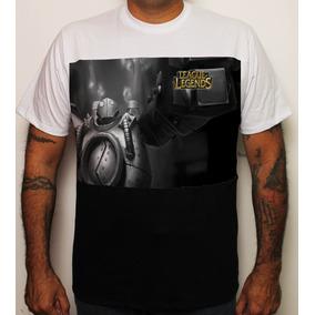 Camiseta Game League Of Legends Blitzcrank Pb Lol 100% Algod