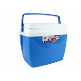 Caixa Térmica Cooler 34l Com Alça E Porta Copos - Mor
