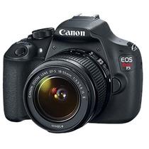 Camara Canon Eos Rebel T5 18mpx 18-55 Full Hd + Memoria 8gb